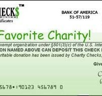 Charity Checks