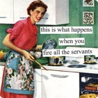 Housewife funnies…