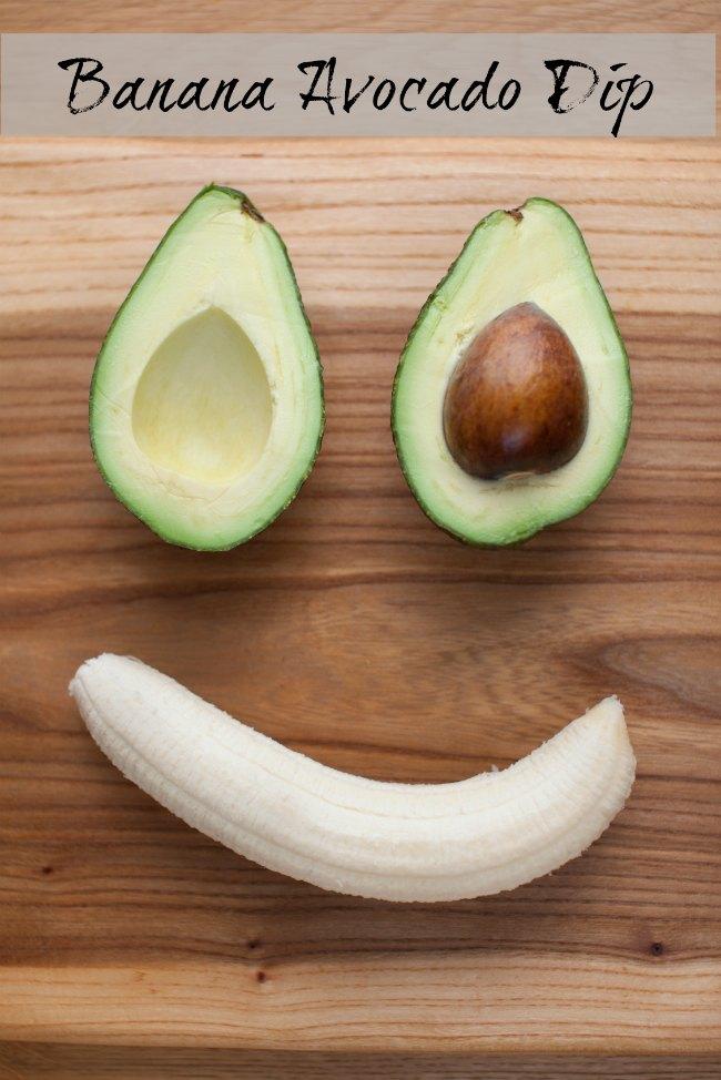 Banana Avocado Dip