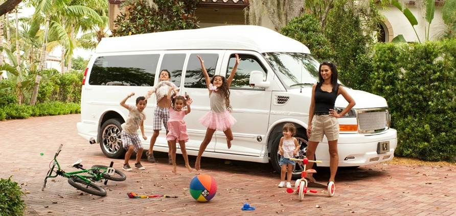 the large family van a grateful life
