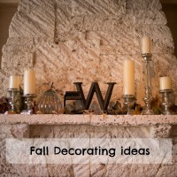 Embracing Fall and Decorating with Fall Leaves