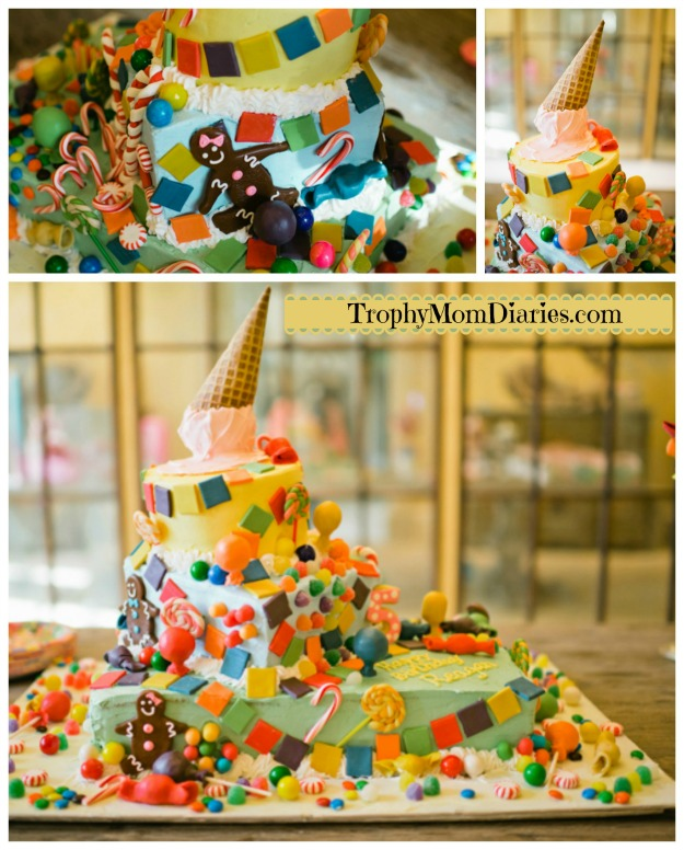 cake collage_candyland
