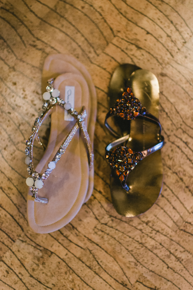 How to Organize Sandals