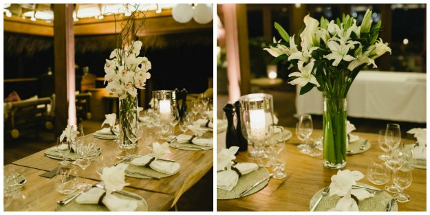 white party flowers