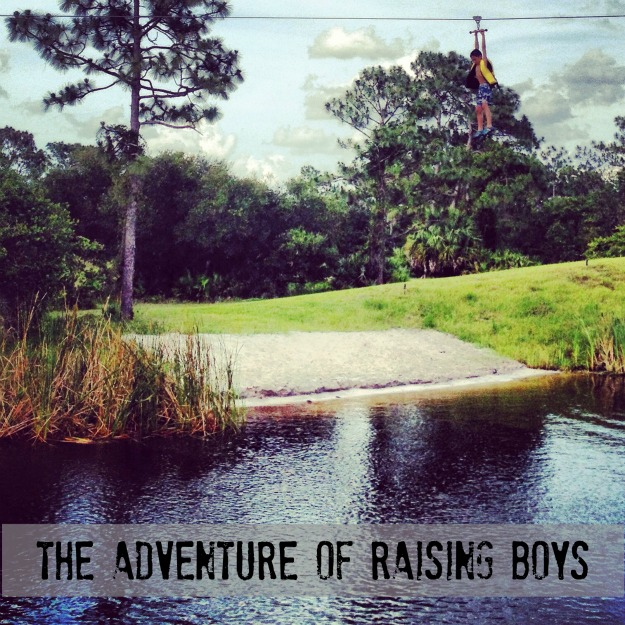 Adventure of raising boys