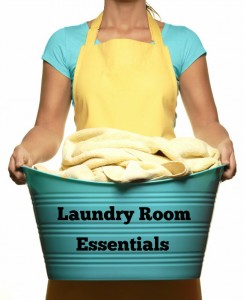 Essentails for your laundry room via A Grateful Life