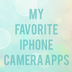 Favorite iPhone Camera Apps