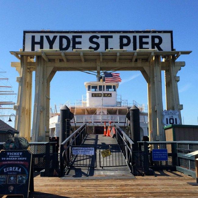 Hyde St. Pier
