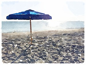 Beach umbrella |A Grateful Life
