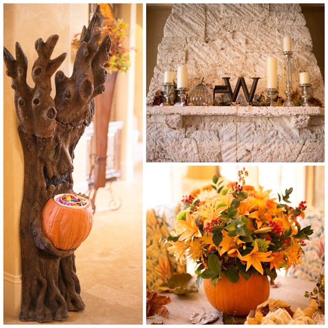 I love decorating for Fall and Halloween.
