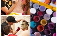 Face Paint Collage