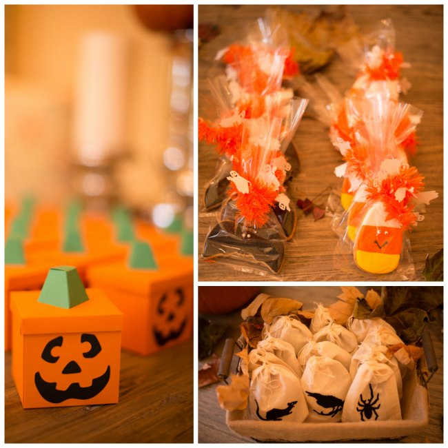 Halloween Treats Boxes and Bags