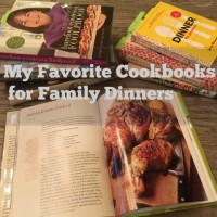 My Favorite Cookbooks for Family Dinners