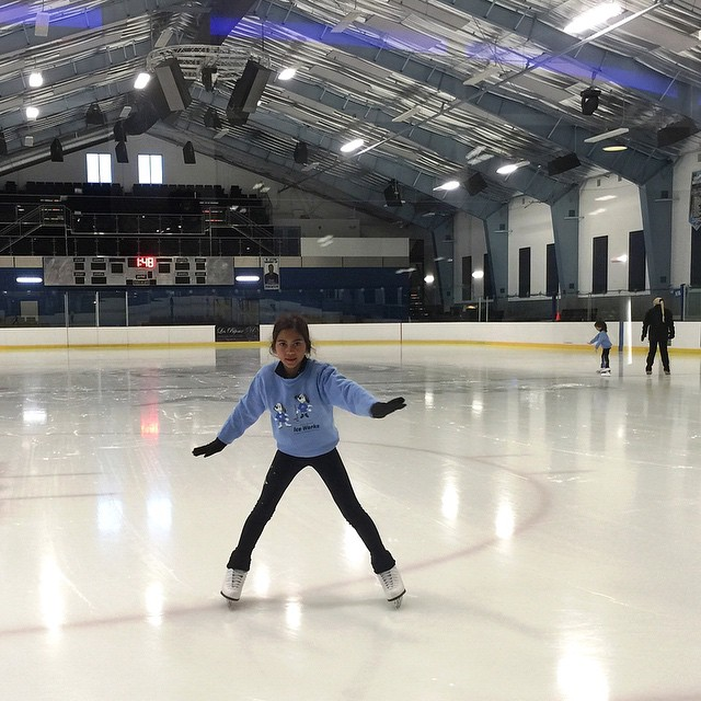 Ice Skating Lessons continue...