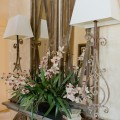 Decorating with Faux Floral Arrangements